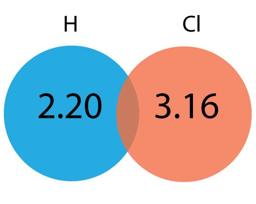 Hydrogen and Chlorine Bond
