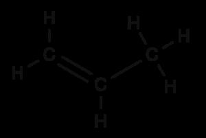 Propene (structural formula) (1)
